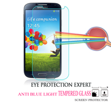 0.3mm Waterproof Tempered Glass Screen Protector Sheet+Cleaning Kit For Samsung Galaxy S4 i9500 i9505