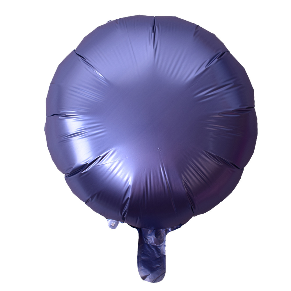 New Design EN71 Custom 18 Inch Metallic Foil Round Shaped Foil Balloons for Wedding Valentine's Day Hen Party Decoration