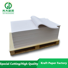 Good white kraft paper of a4 paper 80gsm white price