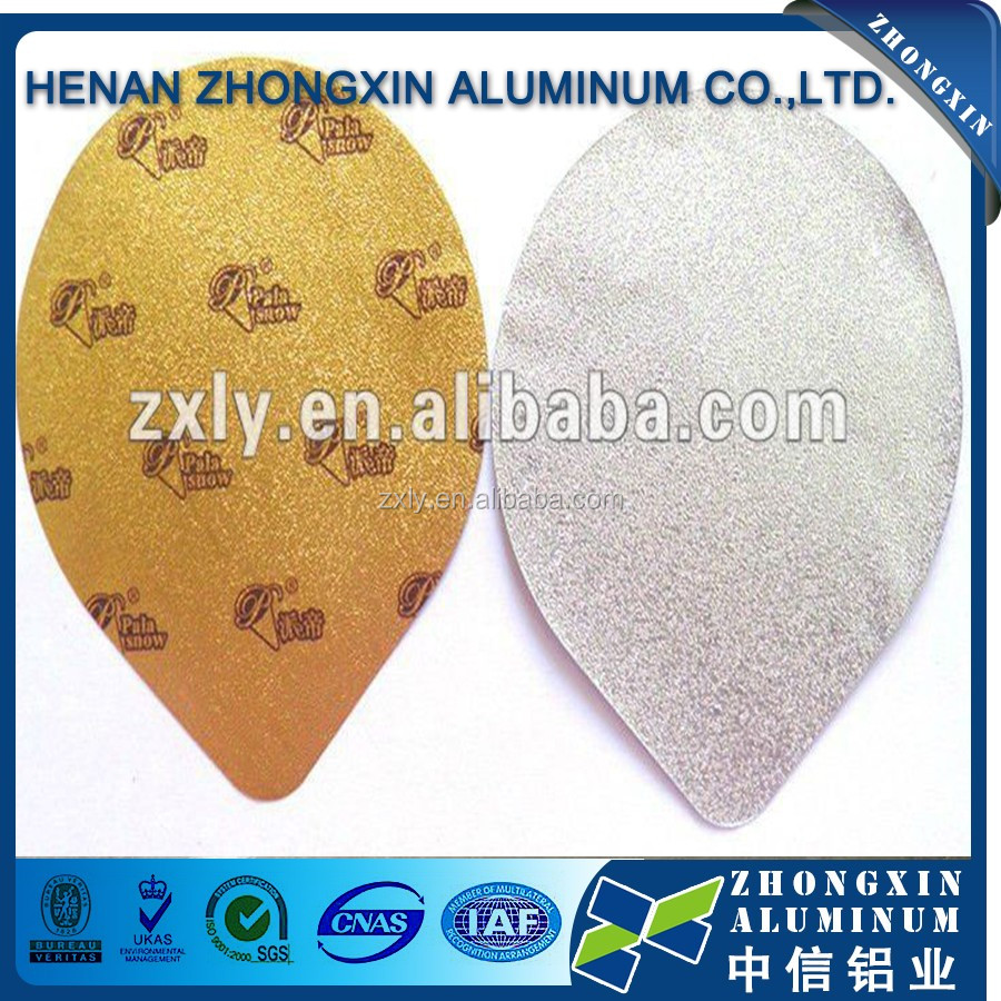 Soft Temper Laminated aluminum foil paper for Hamburger