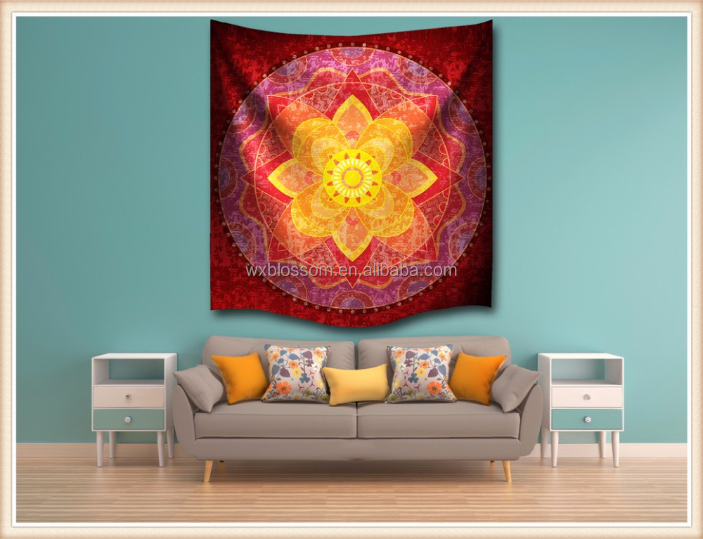 Good design wholesale polyester bohemian wall tapestry
