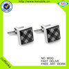 Wedding Souvenior Metal custom luxury cufflinks for Mens Shirt