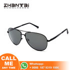 With 30 years experience Fashion Lenses Sunglasses Custom Classic Pilot Stainless Frame 2019 Sun Glasses