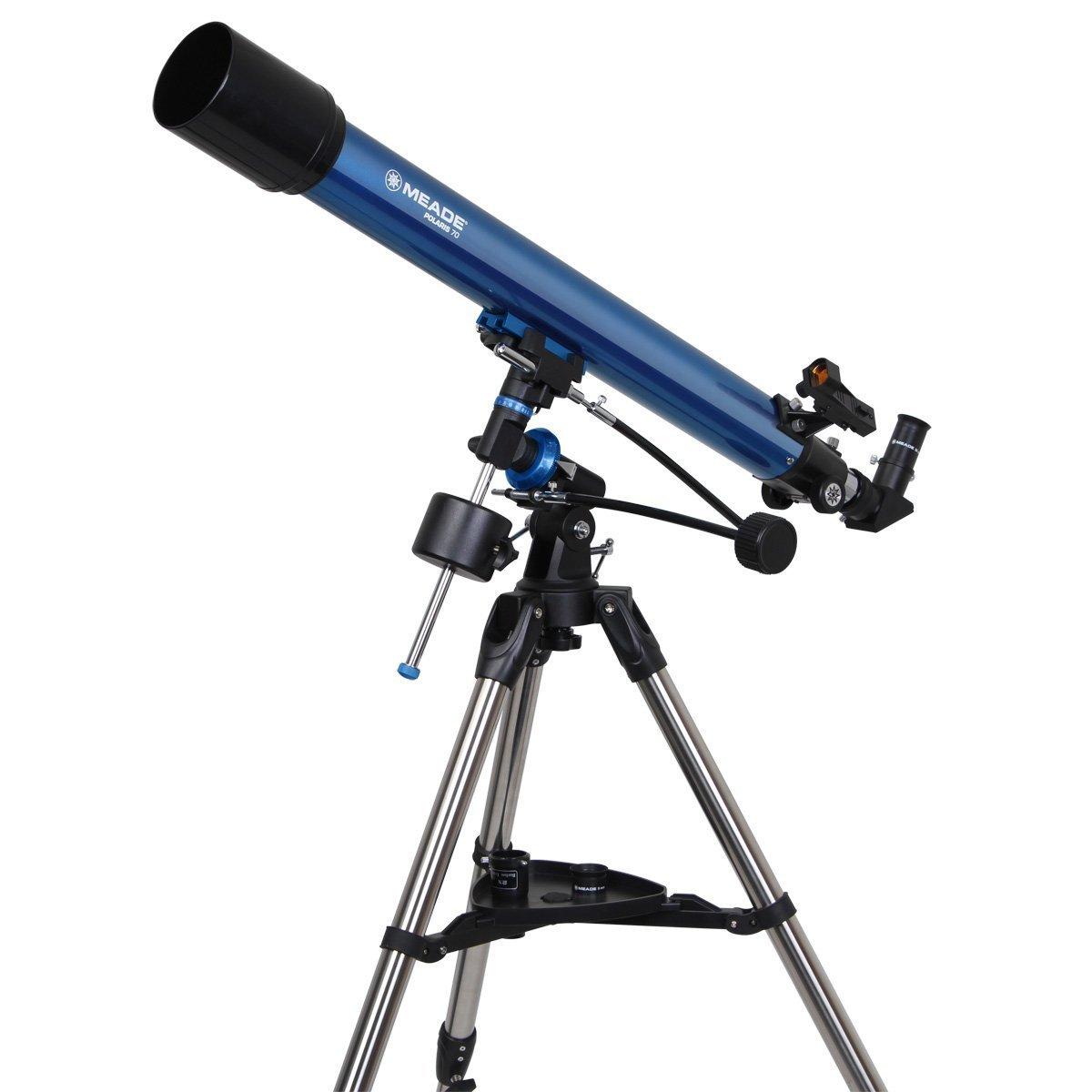 Blue iOptron 6002 900X70 Refractor Telescope