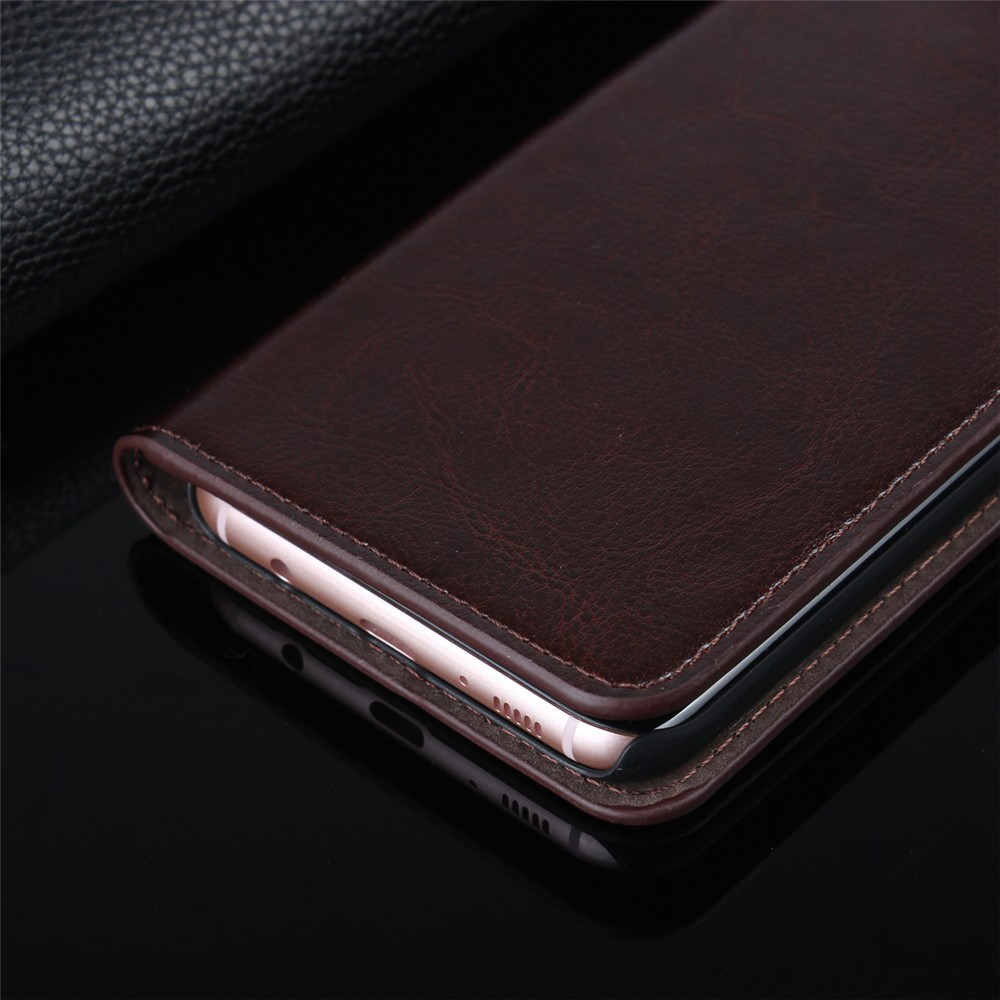 Credit card holder flip leather case for Samsung Galaxy S8 & S8 Plus
