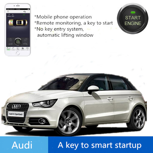 Safaty System keyless to smart startup for car no key enter