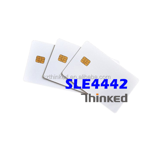 Sle4442 Tarjeta Inteligente De Contacto Con Banda Magnetica Hico De 8 Mm 10 ...