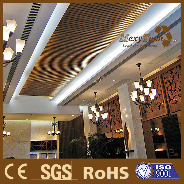 the latest design ceiling of pvc panel, Kenya high-end pvc ceiling.