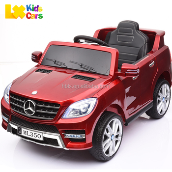 licensed mercedes benz ml350 remote control baby electric car kids battery powered mp3 24g bluetooth