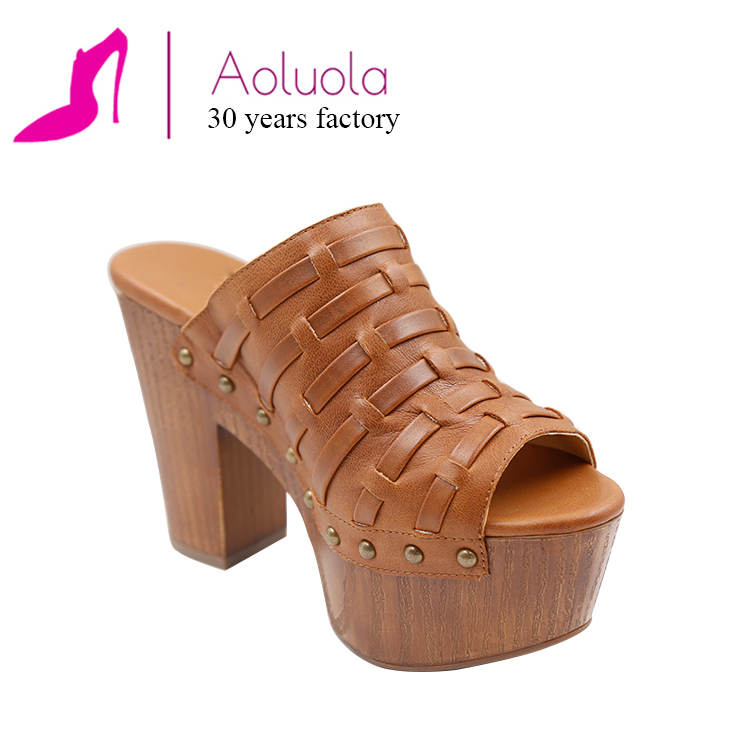 square european latest heel sandal lady shoes women 2017 q6A5wFW