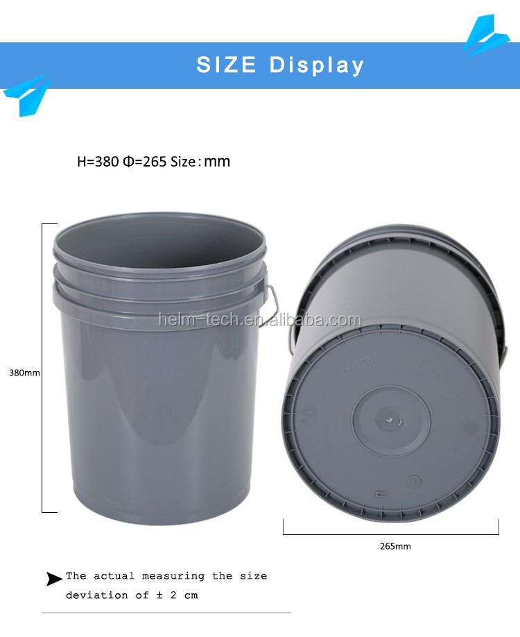 new design black plastic bucket 20l oil paint plastic bucket 20 liter paint bucket with great. Black Bedroom Furniture Sets. Home Design Ideas
