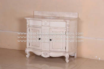 French Furniture - Larissa Singgle Vanity