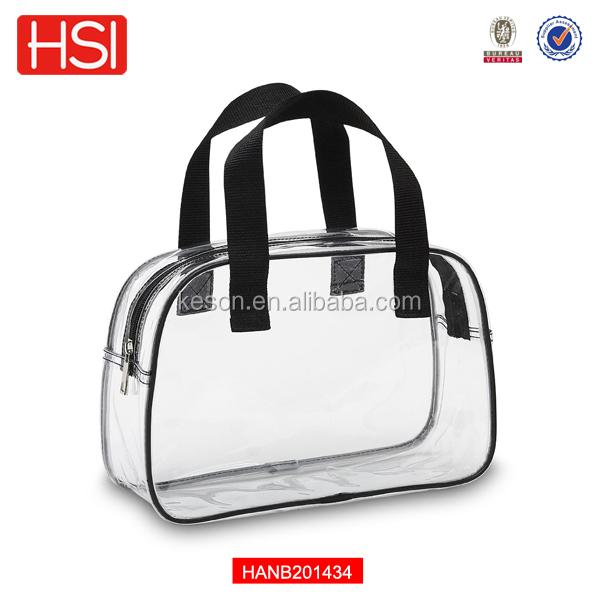 hot ventes 2014 transparent en pvc transparent en plastique sacs dames sac  à main avec fermeture 521d7b7408b