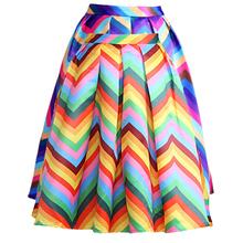 Maxi dlhá veľmi farebná sukňa