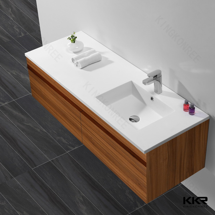 Natural River Stone Vessel Sink,Solid Surface Basin
