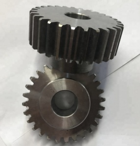 High precision spur ring square hole internal helical gear module wheel C45 steel material