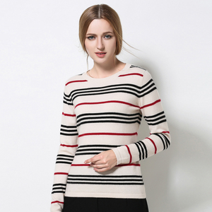 China manufacturer women cashmere knitwears 2018 women pullover sweater