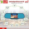 rearview mirror car dvr camera, full hd 1080p vehicle blackbox dvr,fhd 1080p intelligent car moving dvr recorder,A8