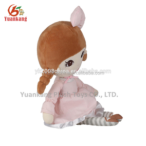 2015 new arrival custom made doll plush quinceanera doll