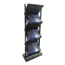 A4 Portatile Dual Sided Brochure Mostra Illustrativo Rivista Display Stand