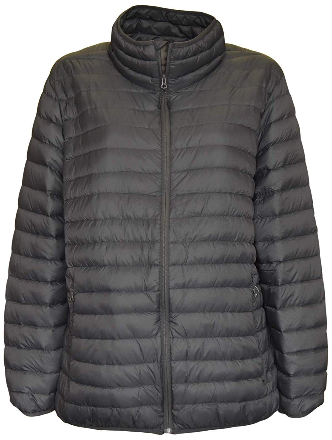 FLCH+YIGE Men Packable Down Quilted Jacket Lightweight Puffer Jacket