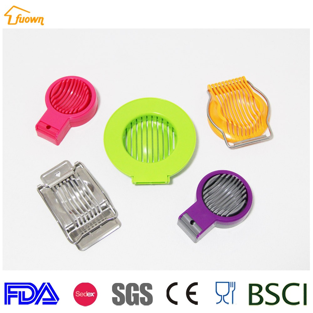 Kitchen Tools Plastic Egg Slicer Egg Cutter With Stainless Steel Cutting Wire