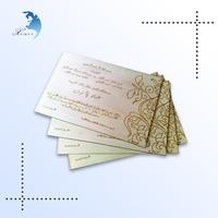 Creative souvenir handmade customized design printed wood postcard