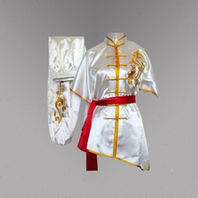 New fashion ricamo drago Professionale changquan kungfu uniforme