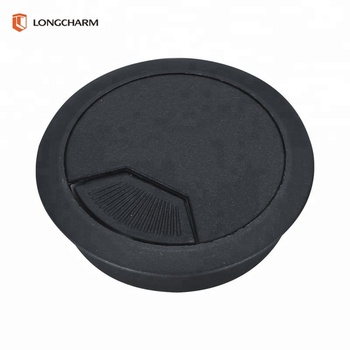 Plastic Office Desk Cable Grommets Spare Parts Hole Cover