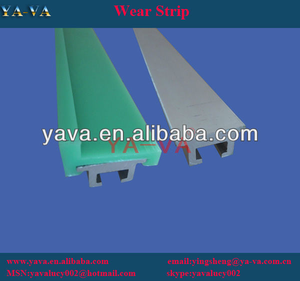 HDPE plastic strip for conveyor parts