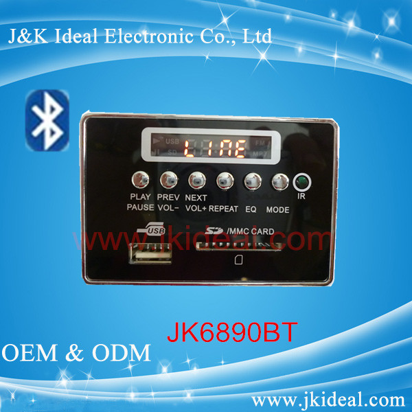 JK6890BT Bluetooth mp3 fm radio player