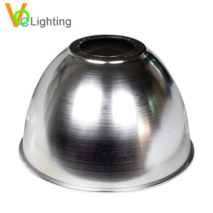 China Housing For LED Lamps Metal Lamp Shae High Bay Light Aluminum Reflector