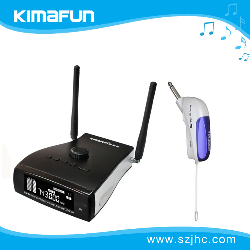 Hot selling and professional mini wireless drum mics KM-66