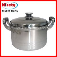 Good quality american style stainless steel soup pot / cooking pot