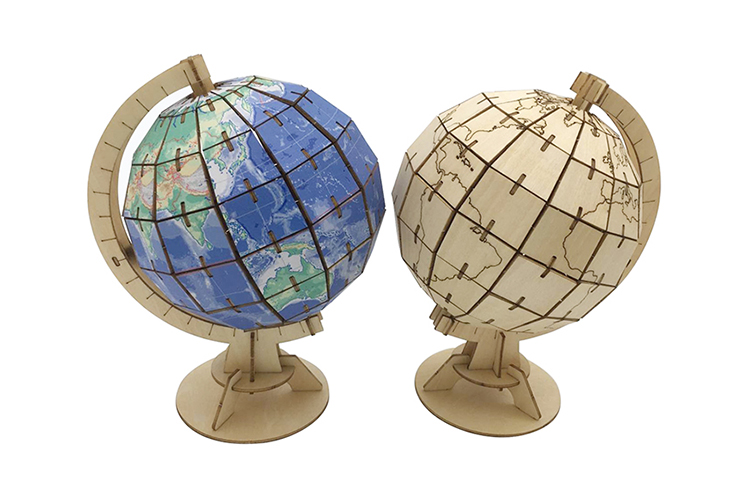 82cc3f1280d Découpe Laser 3d Puzzle Globe Terrestre - Buy Globe Mondial