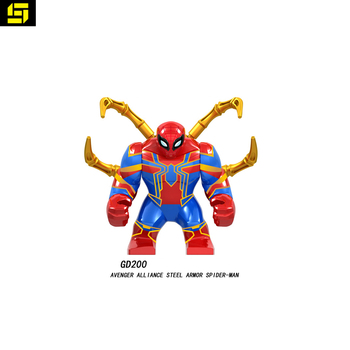 spider-man building Legoing Minifig Block Super Heroes toys