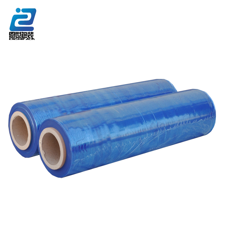 Pallet in plastica usa blu stretch film/LLDPE stretch film roll