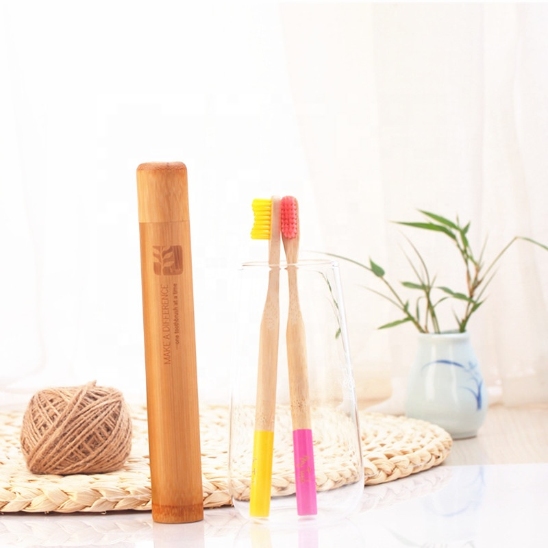 Alibaba.com / Factory wholesale Custom Travel Bamboo Toothbrush With Bamboo Case