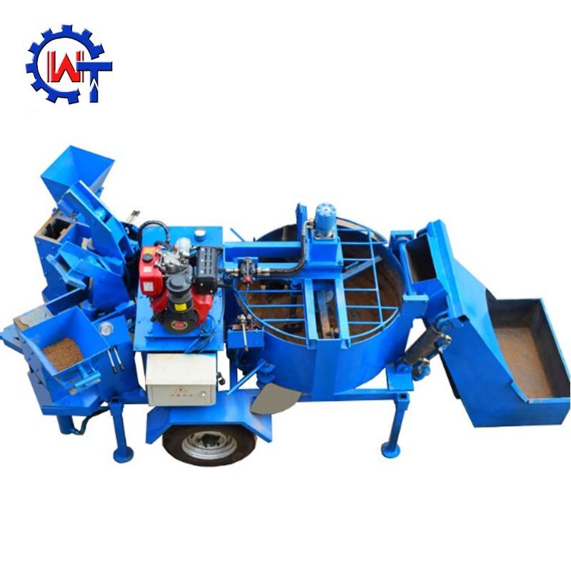 Wt1-20 Diesel Hydraform Block Block Moulding Machine In ...