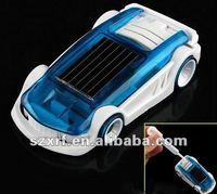 2012 Mini solar product solar powered brine toy car product electric car with solar