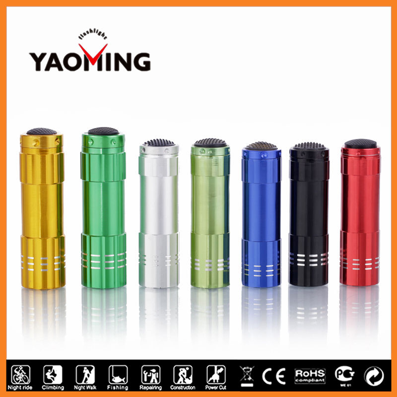 2016 best fancy 9 led Flash Light from chinese led light manufacturers for Emergency