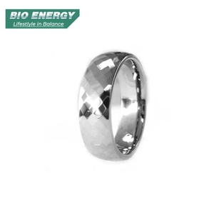 China Factory Directly Wholesales Black Silver Steel Men's Gay Rings Jewellery