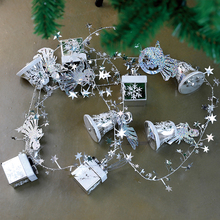 Christmas Decoration silver Christmas Jingle Bells