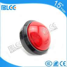 2017 China hot sell red high quality arcade game push button 100mm for sale