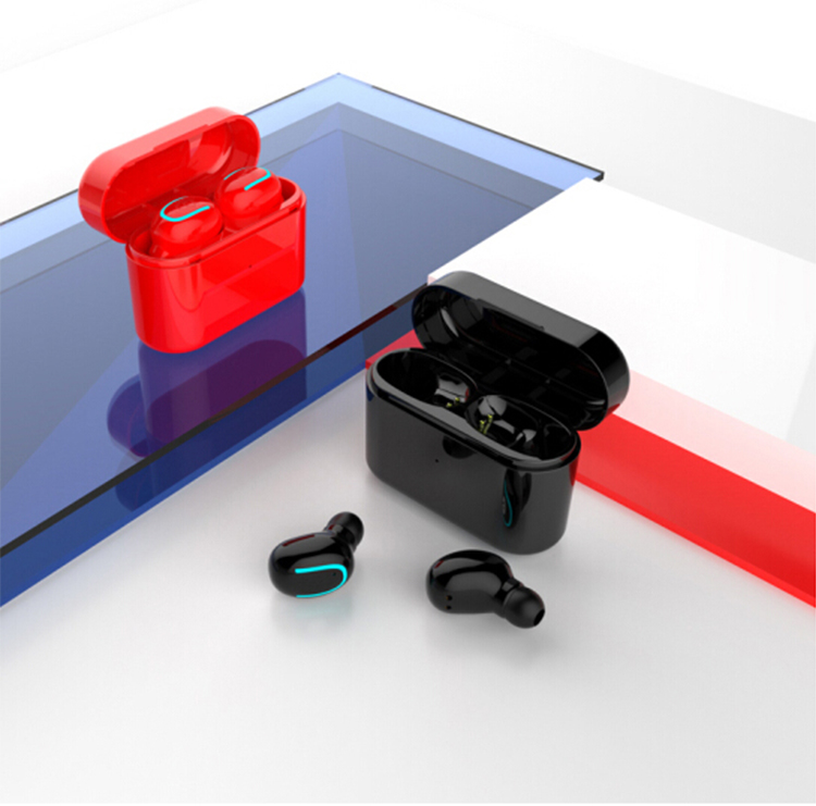 X4T deporte impermeable BT auriculares estéreo TWS auricular Bluetooth inalámbrico con cargador