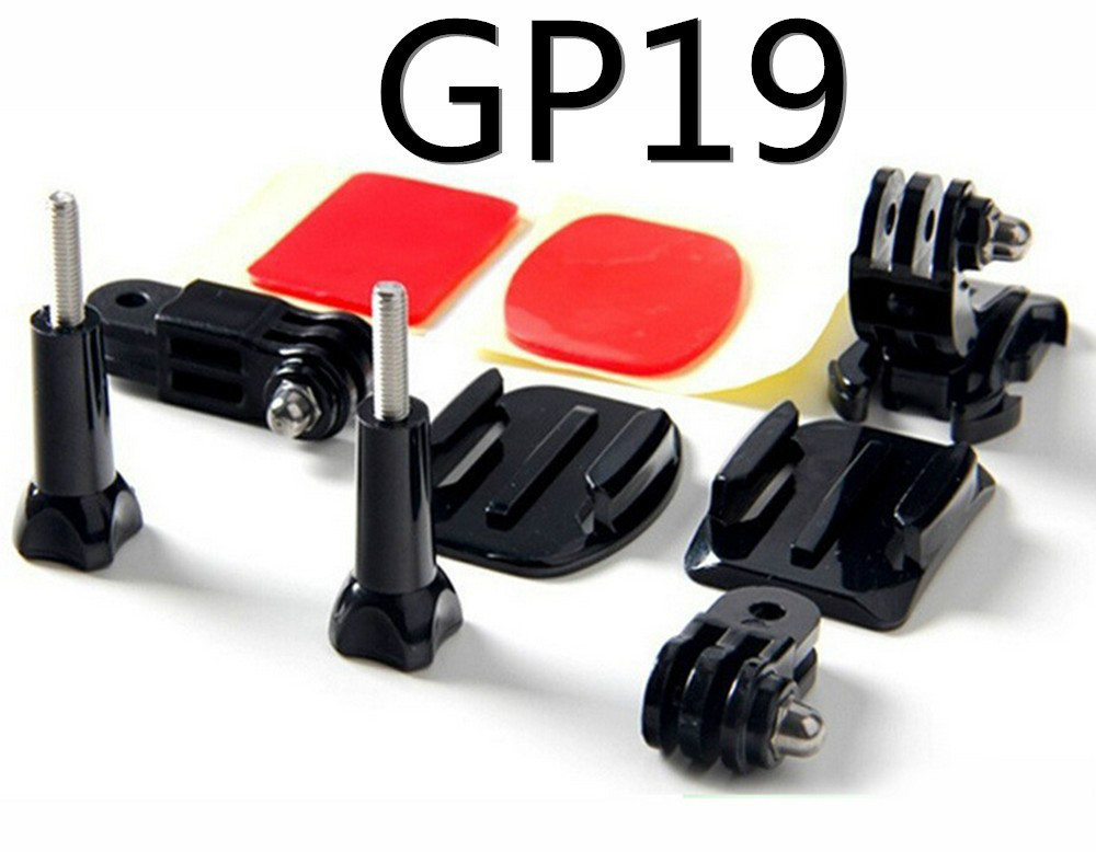Gopros Helmet Front Mount for GoPros 4 3+/3/2/1 Gopros accessories GP19