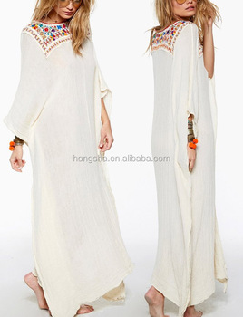Wholesale Mexican Embroidered Dress