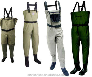 2018 cheap breathable fishing chest wader waist waders
