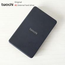 Free shipping New Styles TWOCHI A1 Original 2 5 External Hard Drive 80GB Portable HDD Storage