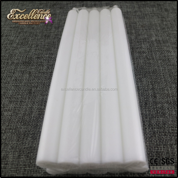 hot sale and good quality household white candle home lighting